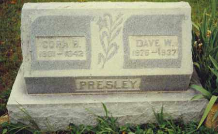 PRESLEY, CORA BELLE - Baxter County, Arkansas | CORA BELLE PRESLEY - Arkansas Gravestone Photos