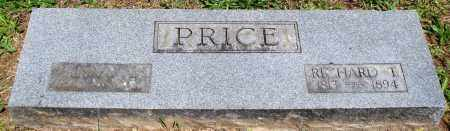 PRICE, RICHARD T - Baxter County, Arkansas | RICHARD T PRICE - Arkansas Gravestone Photos