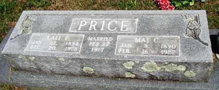 PRICE, MAT C - Baxter County, Arkansas | MAT C PRICE - Arkansas Gravestone Photos