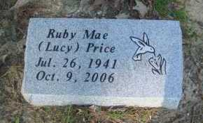 LUCY PRICE, RUBY MAE - Baxter County, Arkansas | RUBY MAE LUCY PRICE - Arkansas Gravestone Photos
