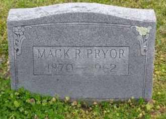 PRYOR, MACK R. - Baxter County, Arkansas | MACK R. PRYOR - Arkansas Gravestone Photos
