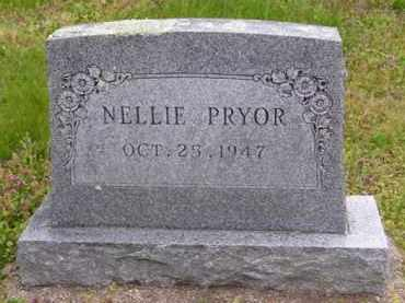 PRYOR, NELLIE - Baxter County, Arkansas | NELLIE PRYOR - Arkansas Gravestone Photos