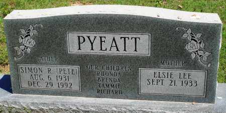 "PYEATT, SIMON R ""PETE"" - Baxter County, Arkansas 