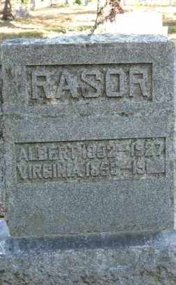 RASOR, ALBERT - Baxter County, Arkansas | ALBERT RASOR - Arkansas Gravestone Photos