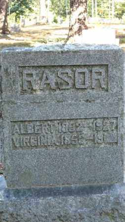 RASOR, VIRGINIA - Baxter County, Arkansas | VIRGINIA RASOR - Arkansas Gravestone Photos