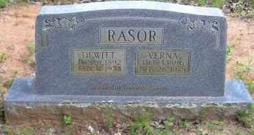 RASOR, VERNA ETHEL - Baxter County, Arkansas | VERNA ETHEL RASOR - Arkansas Gravestone Photos