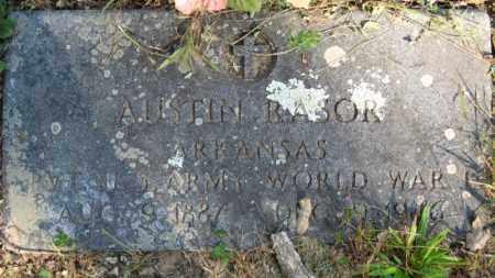 RASOR (VETERAN WWI), AUSTIN - Baxter County, Arkansas   AUSTIN RASOR (VETERAN WWI) - Arkansas Gravestone Photos