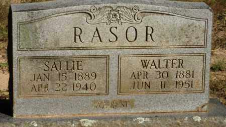 RASOR, WALTER - Baxter County, Arkansas | WALTER RASOR - Arkansas Gravestone Photos