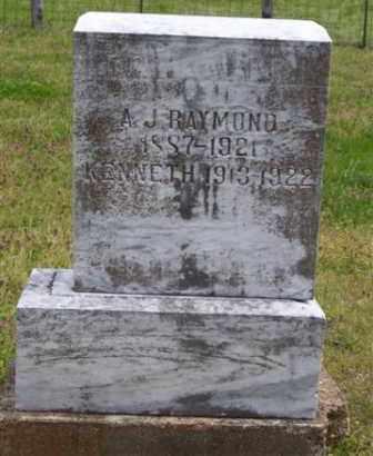 RAYMOND, ANDREW  J. - Baxter County, Arkansas | ANDREW  J. RAYMOND - Arkansas Gravestone Photos