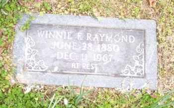 FRIX RAYMOND, WINNIE F. - Baxter County, Arkansas | WINNIE F. FRIX RAYMOND - Arkansas Gravestone Photos