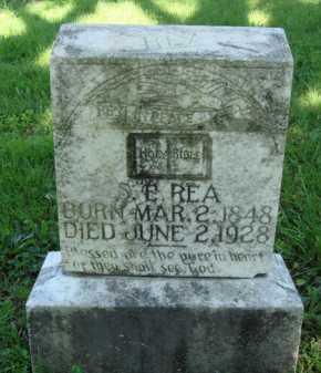 REA, S. E. - Baxter County, Arkansas | S. E. REA - Arkansas Gravestone Photos