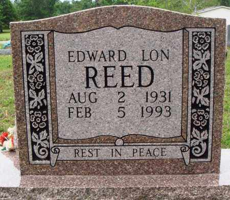 REED, EDWARD LON - Baxter County, Arkansas | EDWARD LON REED - Arkansas Gravestone Photos