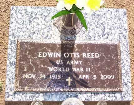 REED, JR (VETERAN WWII), EDWIN OTIS - Baxter County, Arkansas | EDWIN OTIS REED, JR (VETERAN WWII) - Arkansas Gravestone Photos