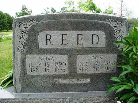 REED, DON - Baxter County, Arkansas | DON REED - Arkansas Gravestone Photos