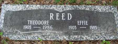 REED, EFFIE - Baxter County, Arkansas | EFFIE REED - Arkansas Gravestone Photos