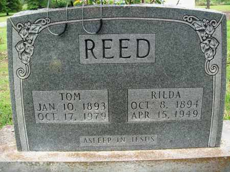 REED, TOM - Baxter County, Arkansas | TOM REED - Arkansas Gravestone Photos