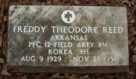 REED (VETERAN KOR), FREDDY THEODORE - Baxter County, Arkansas | FREDDY THEODORE REED (VETERAN KOR) - Arkansas Gravestone Photos