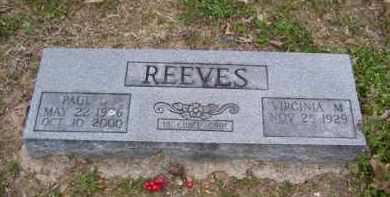 REEVES, PAUL G. - Baxter County, Arkansas | PAUL G. REEVES - Arkansas Gravestone Photos