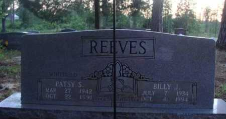 REEVES, PATSY S. - Baxter County, Arkansas | PATSY S. REEVES - Arkansas Gravestone Photos