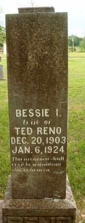 RENO, BESSIE I - Baxter County, Arkansas | BESSIE I RENO - Arkansas Gravestone Photos