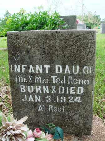 RENO, INFANT DAUGHTER - Baxter County, Arkansas | INFANT DAUGHTER RENO - Arkansas Gravestone Photos