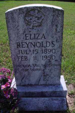 REYNOLDS, ELIZA - Baxter County, Arkansas | ELIZA REYNOLDS - Arkansas Gravestone Photos