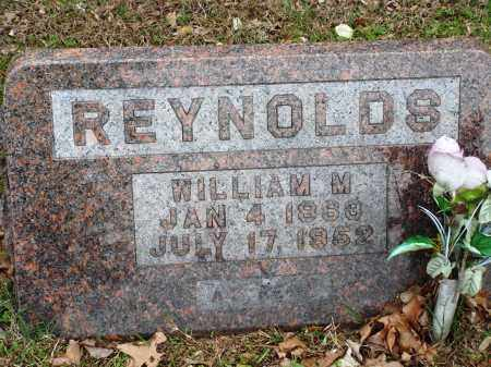 REYNOLDS, WILLIAM M - Baxter County, Arkansas | WILLIAM M REYNOLDS - Arkansas Gravestone Photos