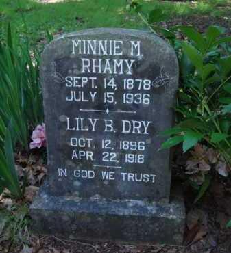 DRY, LILY B. - Baxter County, Arkansas | LILY B. DRY - Arkansas Gravestone Photos