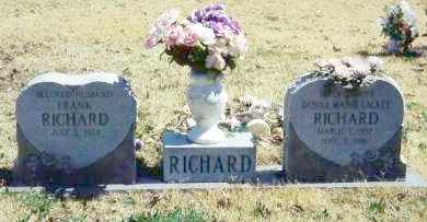 RICHARD, DONNA MARIE - Baxter County, Arkansas | DONNA MARIE RICHARD - Arkansas Gravestone Photos