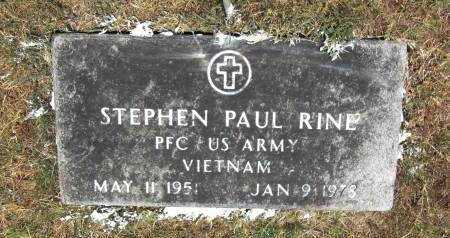 RINE (VETERAN VIET), STEPHEN PAUL - Baxter County, Arkansas | STEPHEN PAUL RINE (VETERAN VIET) - Arkansas Gravestone Photos