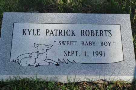 ROBERTS, KYLE PATRICK - Baxter County, Arkansas | KYLE PATRICK ROBERTS - Arkansas Gravestone Photos