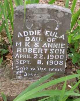 ROBERTSON, ADDIE EULA - Baxter County, Arkansas | ADDIE EULA ROBERTSON - Arkansas Gravestone Photos