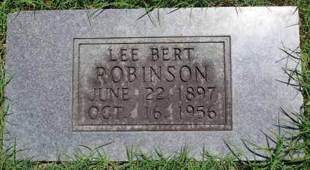 ROBINSON, LEE BERT - Baxter County, Arkansas | LEE BERT ROBINSON - Arkansas Gravestone Photos