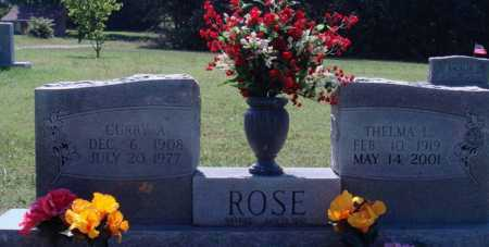 ROSE, CURRY A. - Baxter County, Arkansas | CURRY A. ROSE - Arkansas Gravestone Photos
