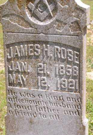 ROSE, JAMES HENRY - Baxter County, Arkansas | JAMES HENRY ROSE - Arkansas Gravestone Photos