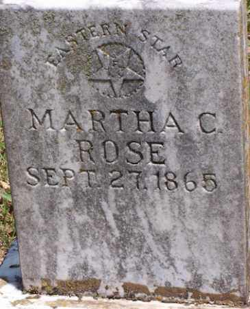 ROSE THOMPSON, MARTHA CAROLINE - Baxter County, Arkansas | MARTHA CAROLINE ROSE THOMPSON - Arkansas Gravestone Photos