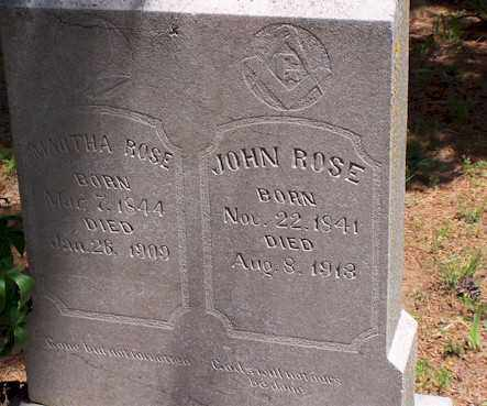 ROSE, JOHN - Baxter County, Arkansas | JOHN ROSE - Arkansas Gravestone Photos