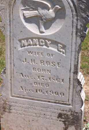 ROSE FRANKS, NANCY E. - Baxter County, Arkansas | NANCY E. ROSE FRANKS - Arkansas Gravestone Photos