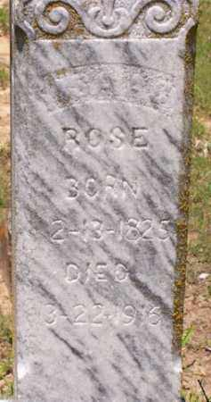 ROSE, ISAAC - Baxter County, Arkansas | ISAAC ROSE - Arkansas Gravestone Photos