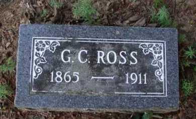 ROSS, G. C. - Baxter County, Arkansas | G. C. ROSS - Arkansas Gravestone Photos