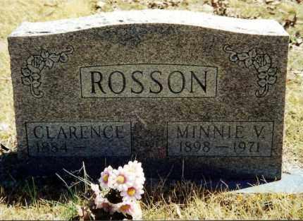 ROSSON, MINNIE VIOLA - Baxter County, Arkansas | MINNIE VIOLA ROSSON - Arkansas Gravestone Photos