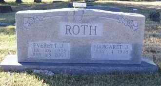 ROTH, EVERETT J. - Baxter County, Arkansas | EVERETT J. ROTH - Arkansas Gravestone Photos