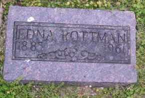 PORTER ROTTMAN, EDNA - Baxter County, Arkansas | EDNA PORTER ROTTMAN - Arkansas Gravestone Photos