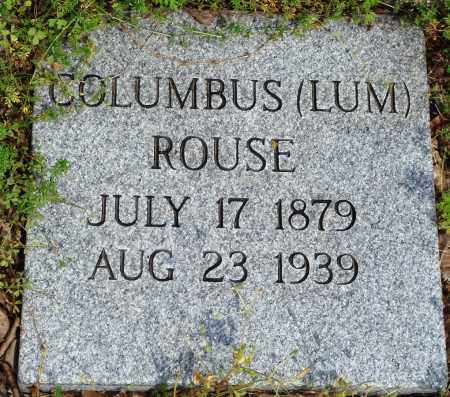 "ROUSE, COLUMBUS ""LUM"" - Baxter County, Arkansas 