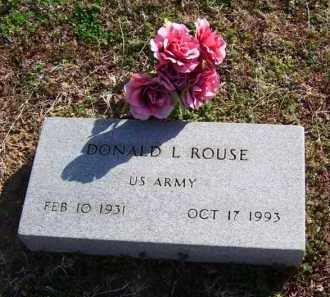 ROUSE (VETERAN), DONALD L - Baxter County, Arkansas | DONALD L ROUSE (VETERAN) - Arkansas Gravestone Photos