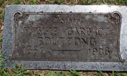 ROUTZONG GARBACZ, MAGGIE - Baxter County, Arkansas | MAGGIE ROUTZONG GARBACZ - Arkansas Gravestone Photos