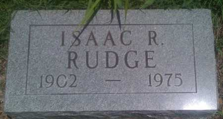 RUDGE, ISAAC R. - Baxter County, Arkansas | ISAAC R. RUDGE - Arkansas Gravestone Photos