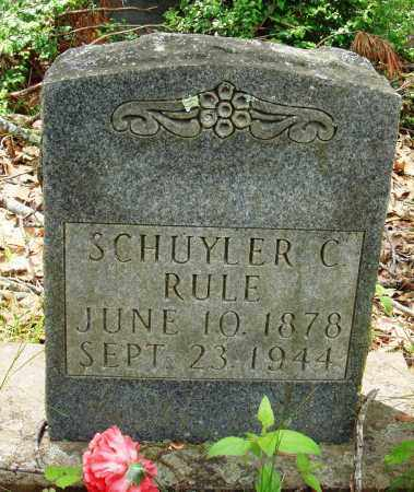 RULE, SCHUYLER C - Baxter County, Arkansas | SCHUYLER C RULE - Arkansas Gravestone Photos