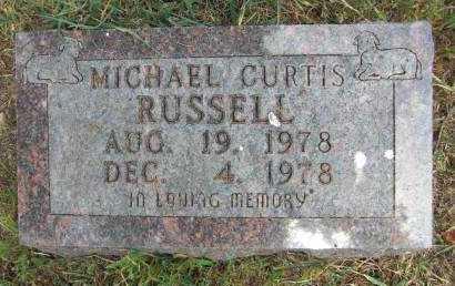 RUSSELL, MICHAEL CURTIS - Baxter County, Arkansas   MICHAEL CURTIS RUSSELL - Arkansas Gravestone Photos
