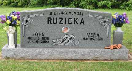 RUZICKA, JOHN - Baxter County, Arkansas | JOHN RUZICKA - Arkansas Gravestone Photos